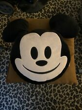 NEW Disney Emoji Plush Mickey Pillow
