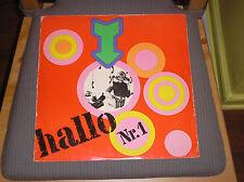 Hallo Nr.1 LP East German AMIGA 1972 Hard Rock Psych Fuzz compilation Insert