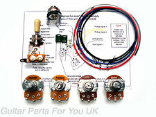 500k Les Paul Wiring Kit Full Size pots LP Wiring Kit Upgrade 0.022uf Caps