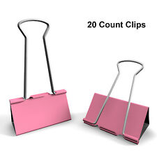 Binder Clips Of 34 54 2 In Colored Paper Clamp Assorted Sizes Assortment