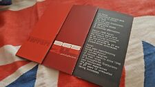 Ferrari 365 GTB4 Sales Leaflet Reprint - Foldout with specifications - Softback