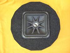 Reserveradgehäuse, inkl. Kicker S8L7 Subwoofer