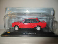 FIAT 131 ABARTH 1976 FIAT STORY COLLECTION HACHETTE SCALA 1:43
