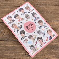Cute Kpop Star BTS BANGTAN BOYS Transparent Stickers DIY Album Scrapbooking Gift