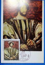 LE ROI FRANCOIS 1°  FRANCE CPA Carte Postale Maximum Yt 1518 GF