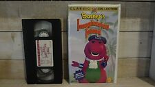 Rare Vintage Barney's Imagination Island VHS Tape Clamshell Case! 1994