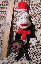 "The Cat In The Hat Finger-Puppet W GINK Vintage 1997 Stuffed Plush w Tag 11""Tall"