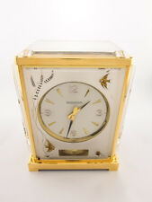 Rare Jaeger-LeCoultre Atmos V AQUARIUM FISHES (Marina) clock,original box 1970´s