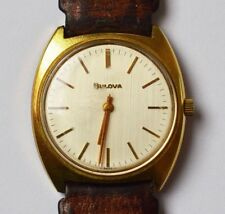 Bulova Swiss Original Herrenarmbanduhr Handaufzug um 1970/80 Herrenuhr