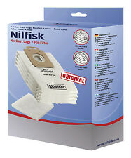 107407639 NILFISK POWER AND SELECT GENUINE DISPOSABLE BAGS 4 PACK  IN HEIDELBERG
