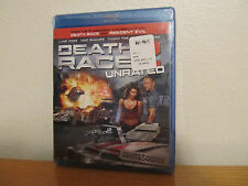 DEATH RACE 2 - UNRATED BLU RAY - New / Sealed - 2 Disc Set