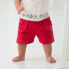 NEW Boys Shorts Toddler Boys Red Linen Shorts Size 18 months