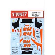 Studio27 DC1078 1:24 Citroen DS3 Eil #210 Rally Sanremo 2014 Original Decals