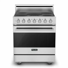"30"" Self-Cleaning Electric Range Viking Rver33015Bss"