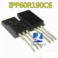 1PCS  IPP60R190C6 MOSFET N-CH 600V 20.2A TO220 60R190 IPP60R190 new