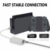Cable adaptador de red LAN de Internet Ethernet para Nintendo Switch /Wii/ Wii U