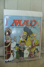 9.9 M MINT MAD SIMPSONS MAGAZINE GERMAN EURO VARIANT SIGNED BY ARAGONES RRP SDCC