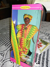DOLLS OF THE WORLD ( GHANIAN) BARBIE  #A 1996 COLLECTOR EDITON 3YRS AND UP