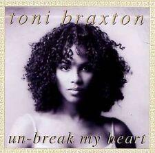 Unbreak My Heart: The Mixes [Maxi Single] by Toni Braxton (CD, Apr-2001, LaFace)