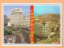 Casablanca Morocco Postcard Unused Maroc Place Mohammed V Avenue des F.A.R.