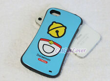 Cute glossy Doraemon cat blue soft rubber extra bumper case cover iPhone 4/4s