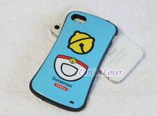 Cute glossy Doraemon cat blue soft rubber extra bumper case cover iPhone 4/4s