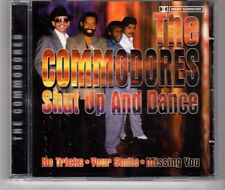 (HG627) The Commodores, Shut Up And Dance - CD