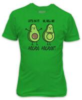AVOCADO AVOCADONT T-SHIRT - ORGANIC GREEN - FUNNY VEGAN VEGETARIAN REAL HEALTHY