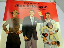 Dover President Paper Dolls: Ronald Reagan by Tom Tierney (1984, Print, Other)