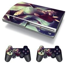 Final Fantasy 7 FF7 FFVII Tifa Lockhart Skin Sticker Decal Protector for PS3 FAT