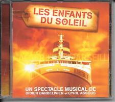 CD ALBUM 14 TITRES--SPECTACLE MUSICAL--LES ENFANTS DU SOLEIL--BARBELIVIEN/ASSOUS