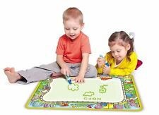 Vinsani Traffic Water Doodle Mat Drawing Writing Painting Board&One Pen Age 3 Y+