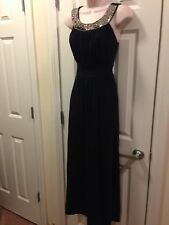 Hanni Black Long Dress Travel Size Small