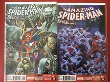 Amazing Spider-Man. Spiral #1 & 2 (NM) Bagged with backing boards.