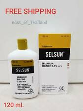 "120 ml. Selsun Treatment Shampoo ""Top Seller"" for HAIR ANTI DANDRUFF"