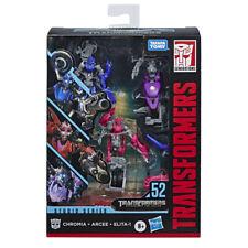 Transformers Studio Series SS-52 Deluxe Arcee, Chromia and Elita-1 Brand New