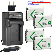 Kastar Battery AC Charger for Sony NP-BX1 BC-CSXB & Sony Cyber-shot DSC-HX80
