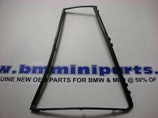 BMW E39 Touring Rear Left Door Fixed Window Frame Black 51348190649