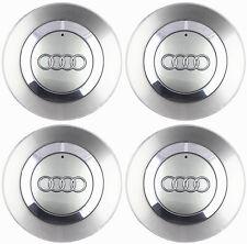 """4 OEM Wheel Center Hub Cap 8E0601165 FOR AUDI 02-06 Audi A4 B6 16"""" 5 Spoke Wheel"""