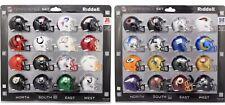 AFC NFC Conference Set Riddell Pocket Pro Mini Football Helmet - 32 Helmets 2020