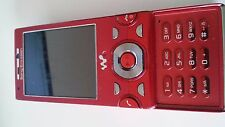 Sony Ericsson Walkman W995i - Red (Unlocked) Mobile Phone