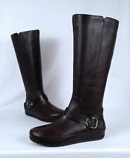 NEW!! FitFlop 'Duéboot™ Buckle' Tall Boot- Brown- Size 12 US/ 42 EU  (B18)