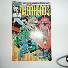Marvel Comics Warheads #6 1992