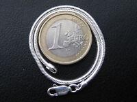 Schlangenarmband 925'er Silber 19,5 cm lang 1,2 mm stark Silber Armband / AB008