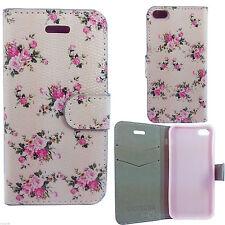 Designer Magnetic Leather Flower Wallet Case Cover For S8 S9 J3-6 SE 7G 8G