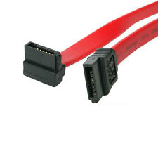 "Evercool 18"" Serial ATA SATA Right-Angle SATA to SATA Data Cable Red"