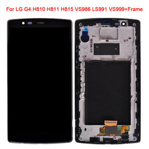 For LG G4 H810 H811 H815 VS986 LCD Display Touch Screen Digitizer Assembly Frame