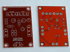 Fuzz Face 2x Top Quality, Professionally Fabricated PCB's, Stompbox PNP & NPN