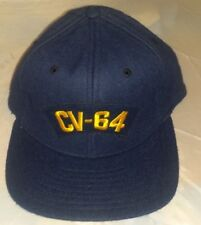 Vintage  CV-64 Fitted 6 3/4  Hat Cap Embroidered New Era A2