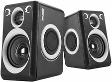 Computer Gaming Speakers With Deep Bass Surround Sound Multimedia USB 2.0